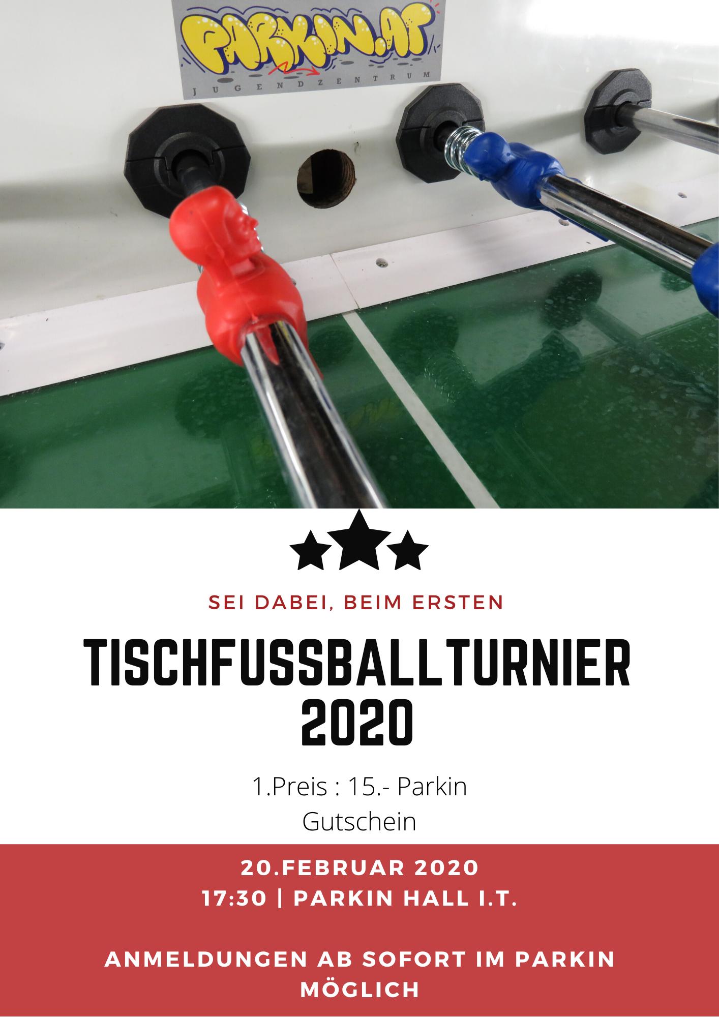 Tischfußball Turnier 2020